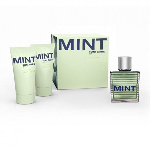 Set MINT Eau de Toilette (30ml) + shower gel (50ml + body lotion (50ml)